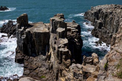 東尋坊 三段岩