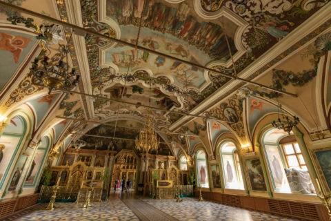 大食堂教会 内部