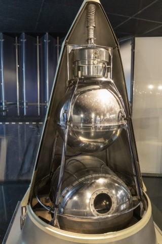 宇宙飛行士記念博物館 内部 スプートニク