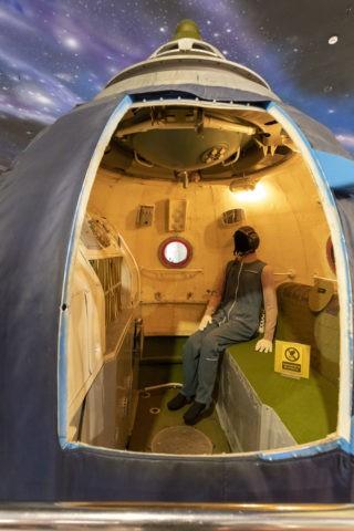 宇宙飛行士記念博物館 内部 ソユーズ