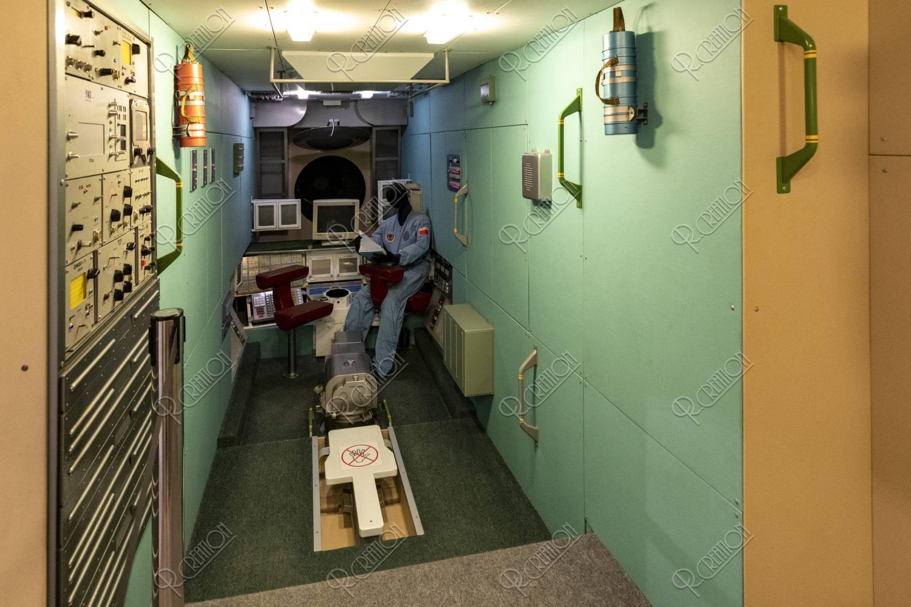 宇宙飛行士記念博物館 内部 宇宙ステーション