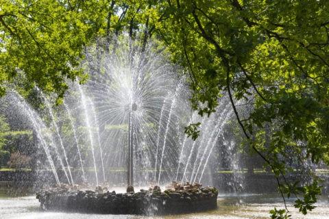 夏の宮殿 噴水