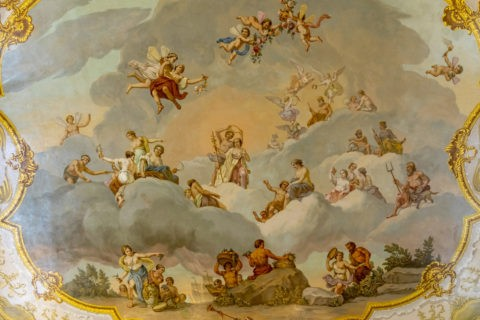 エカテリーナ宮殿 天井画