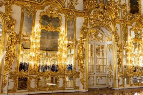 エカテリーナ宮殿 内部 黄金の間