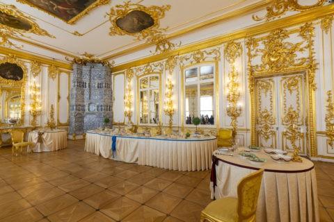 エカテリーナ宮殿 内部 主食堂