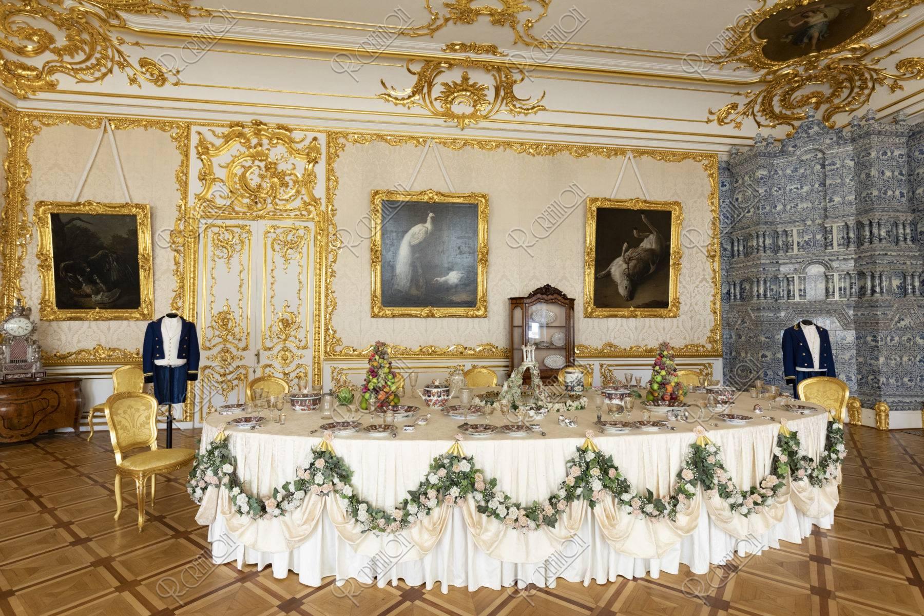 エカテリーナ宮殿 内部 食堂