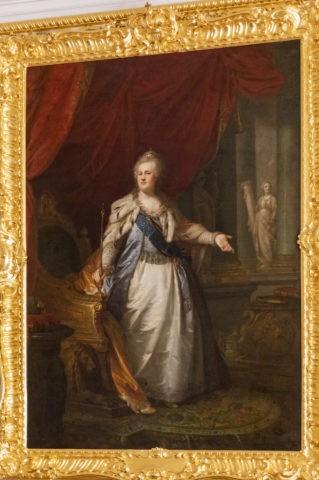 エカテリーナ2世 肖像画