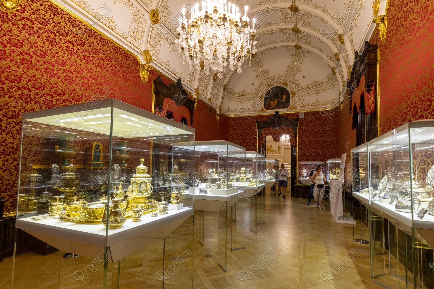 ファベルジェ博物館 宝飾品
