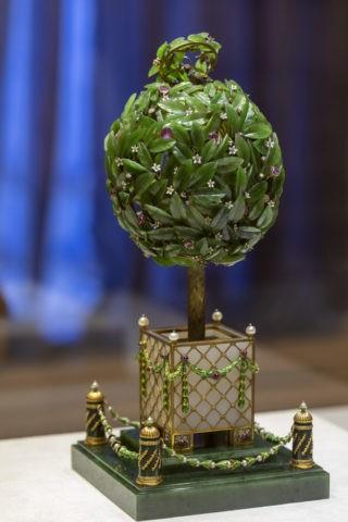 ファベルジェ博物館 イースターエッグ 月桂樹