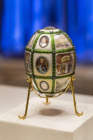 ファベルジェ博物館 イースターエッグ 15周年