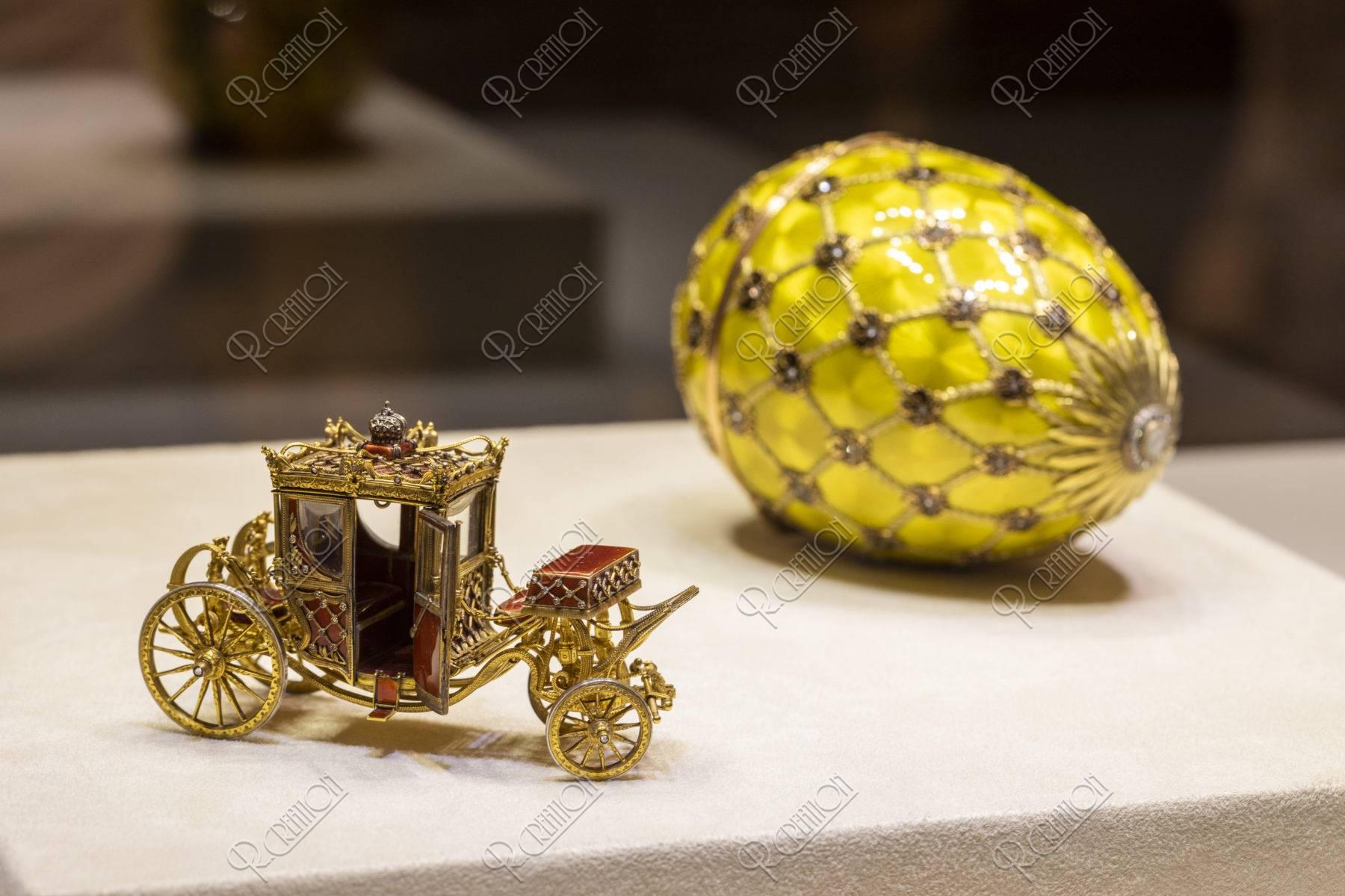 ファベルジェ博物館 イースターエッグ 戴冠式