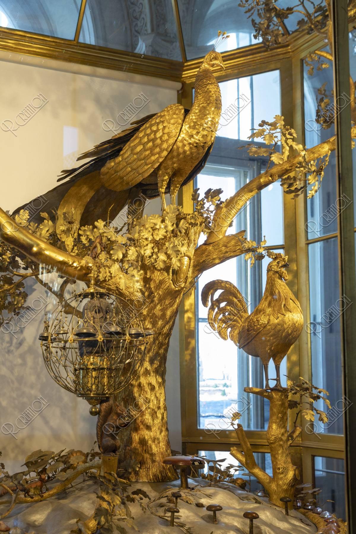 エルミタージュ美術館 孔雀の時計