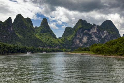 桂林漓江下り 九馬画山