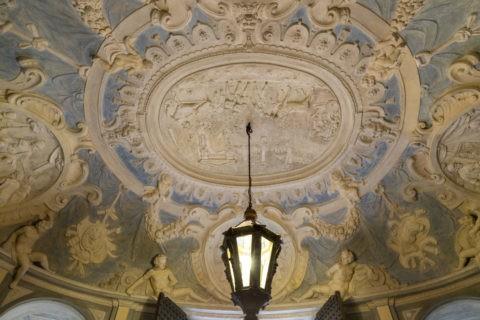 ニコロシオ・ロッメリーニ宮 スタッコ装飾