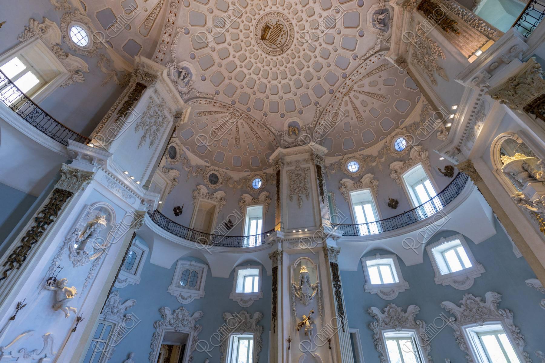 ベッラ島 ボッロメオ宮殿 大広間
