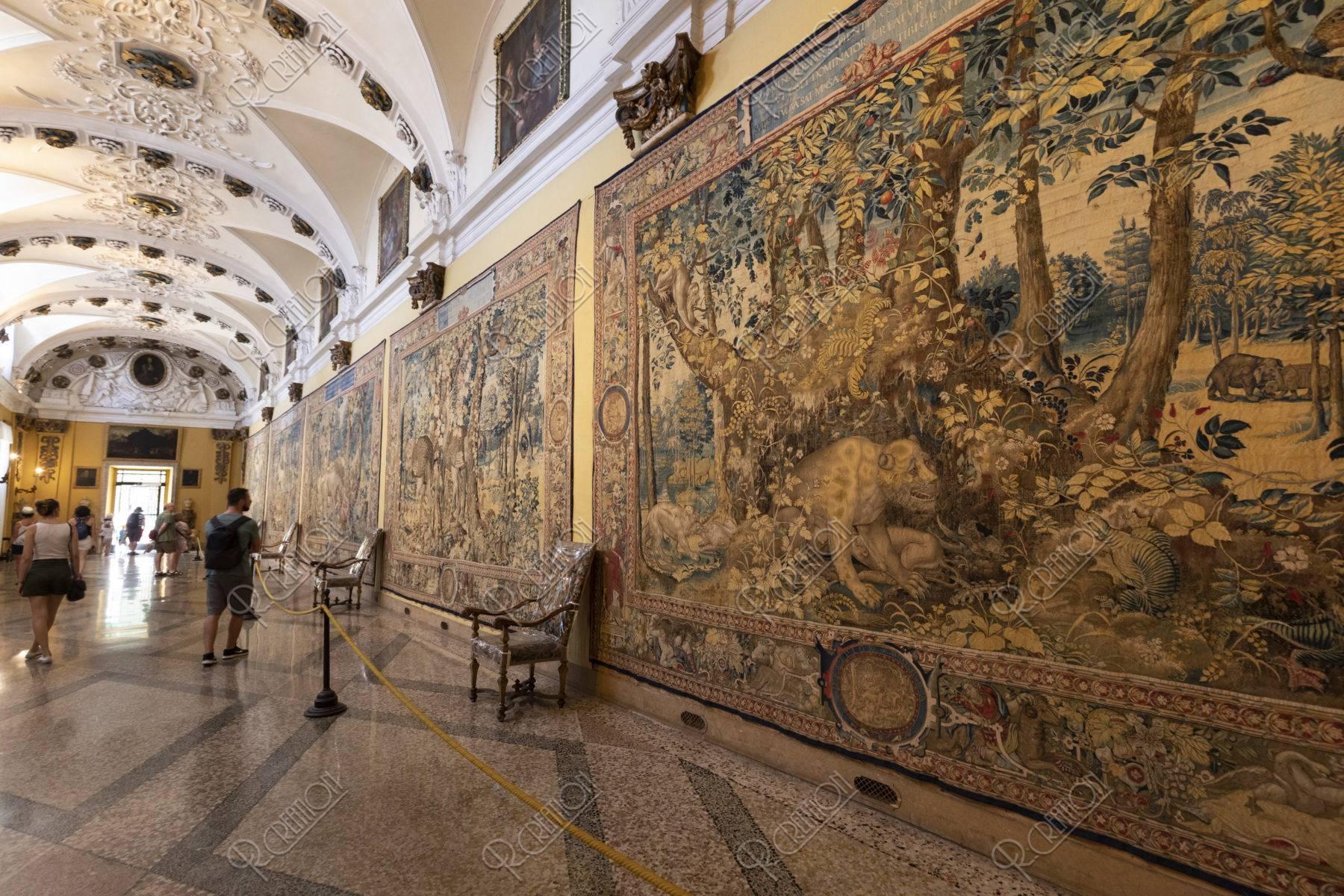 ベッラ島 ボッロメオ宮殿 タペストリーの間