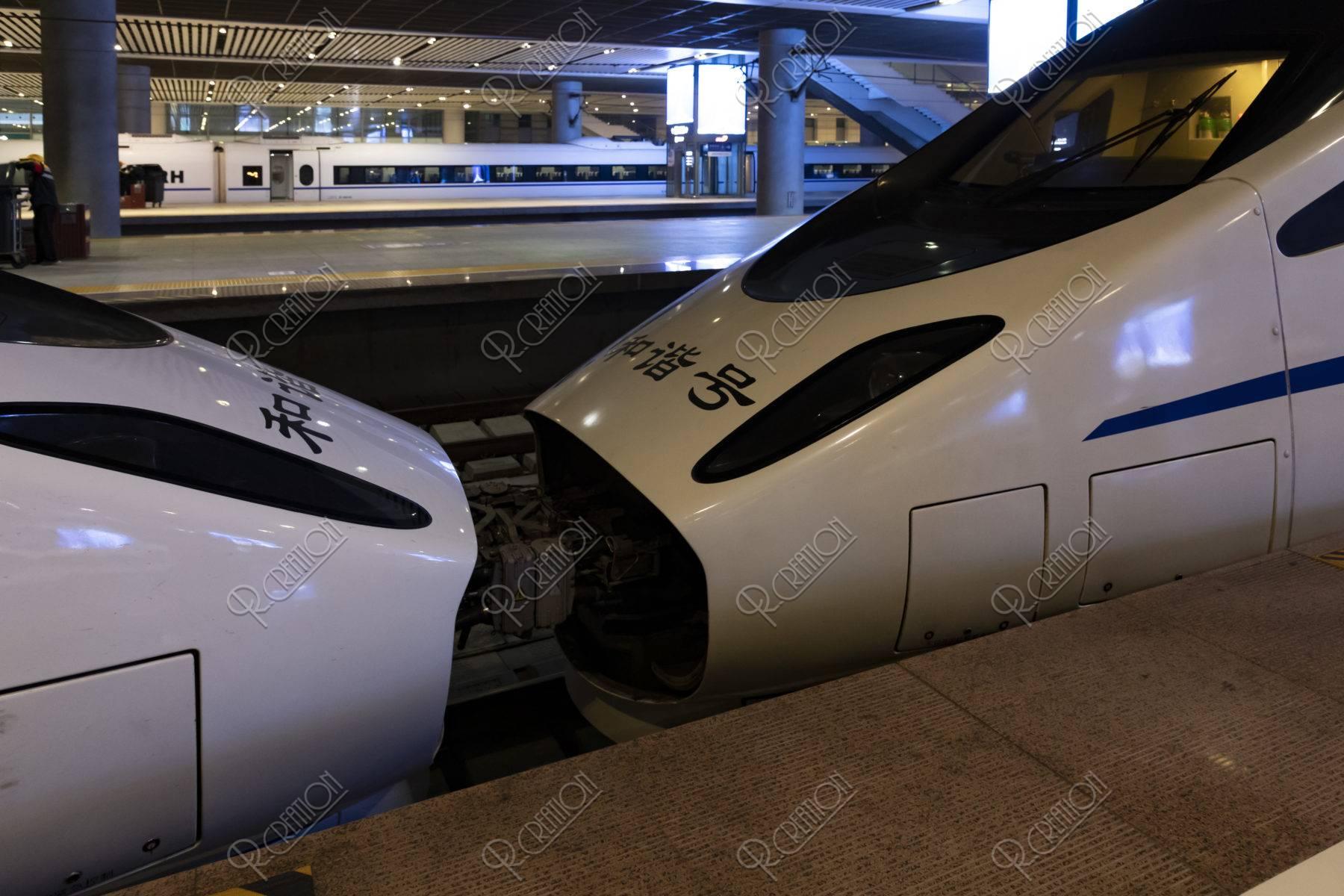 中国新幹線 連結部