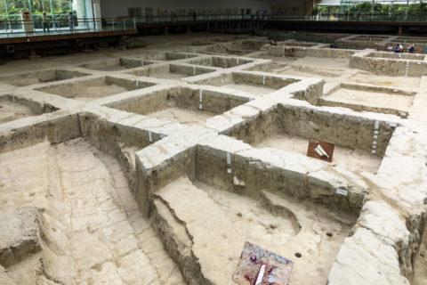 金沙遺址博物館 遺構