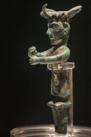 金沙遺址博物館 銅立人像
