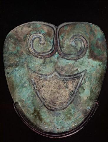 金沙遺址博物館 銅面具
