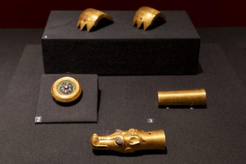 金沙遺址博物館 金製飾り物