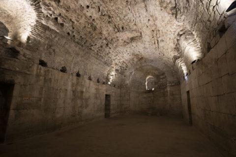 ディオクレティアヌス宮殿 地下宮殿