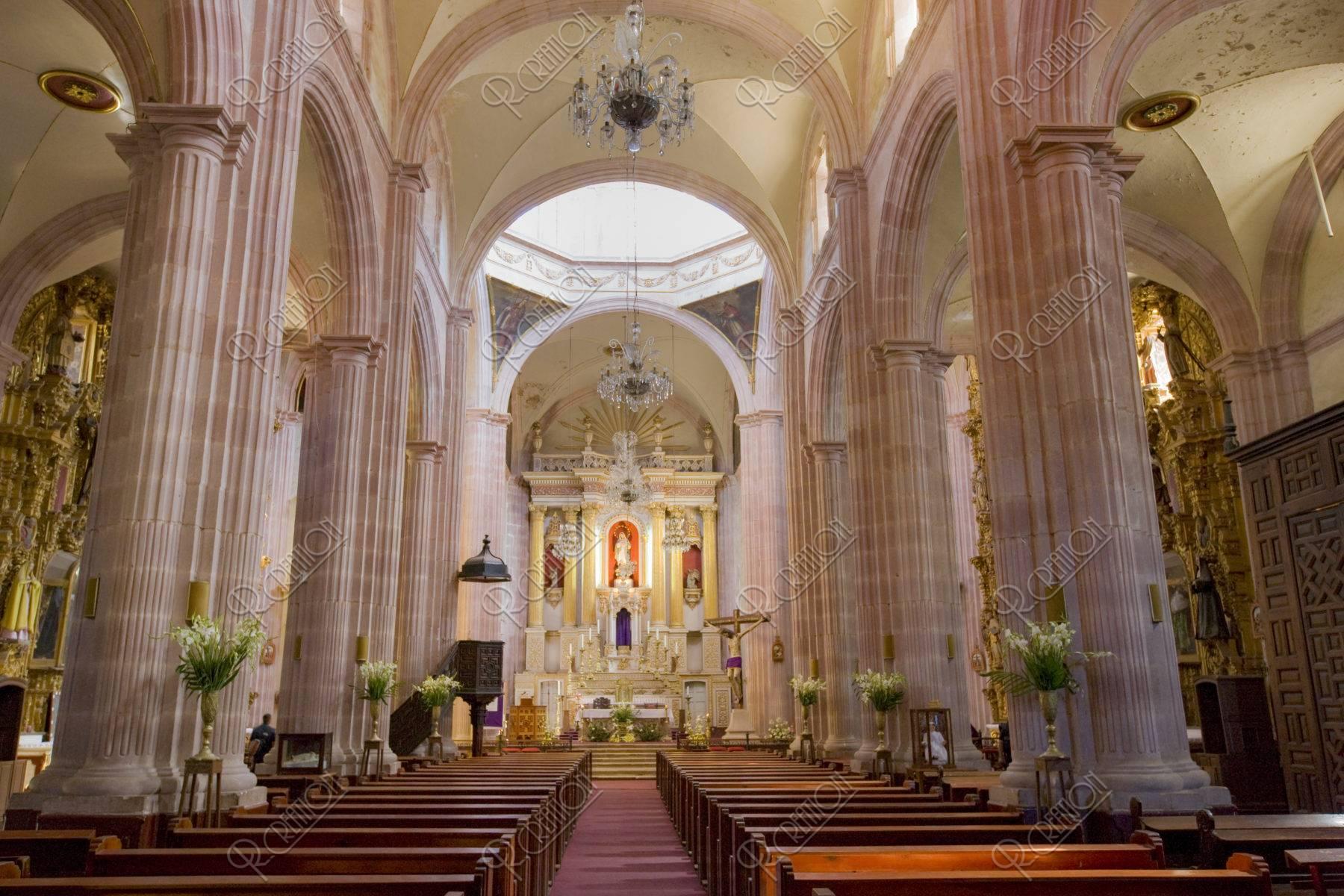サントドミンゴ教会 内部