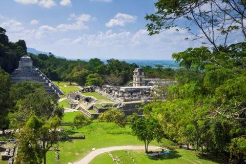 パレンケ遺跡 碑文の神殿と宮殿 世界遺産