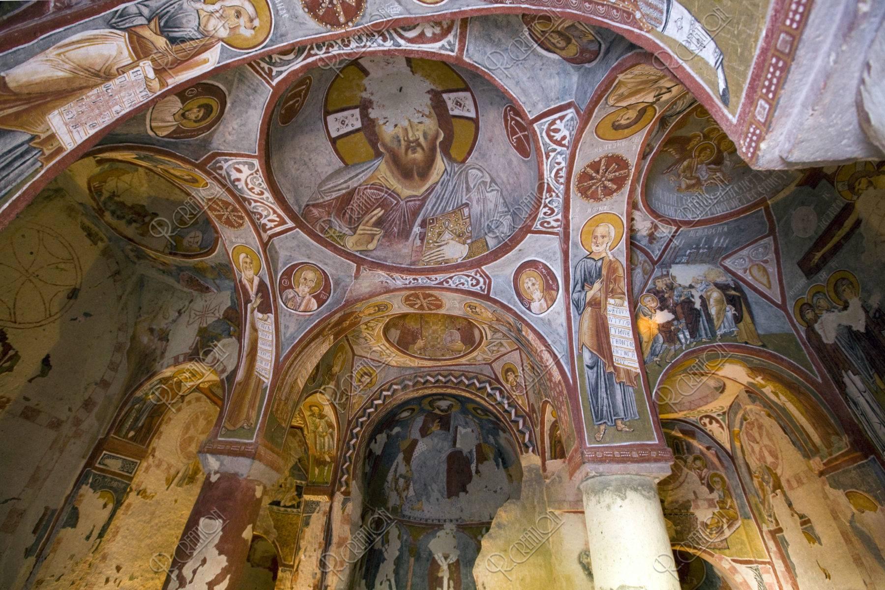 ギョレメ屋外博物館 エルマルキリセ寺院