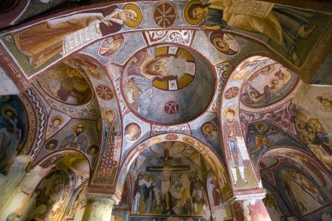 ギョレメ屋外博物館 エ ルマルキリセ寺院 世界遺産