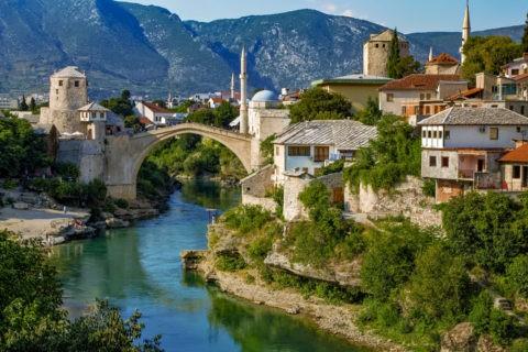 ネレトヴァ川とスタリモスト 世界遺産