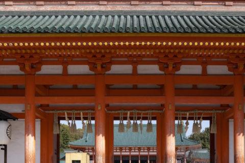 平安神宮 拝殿