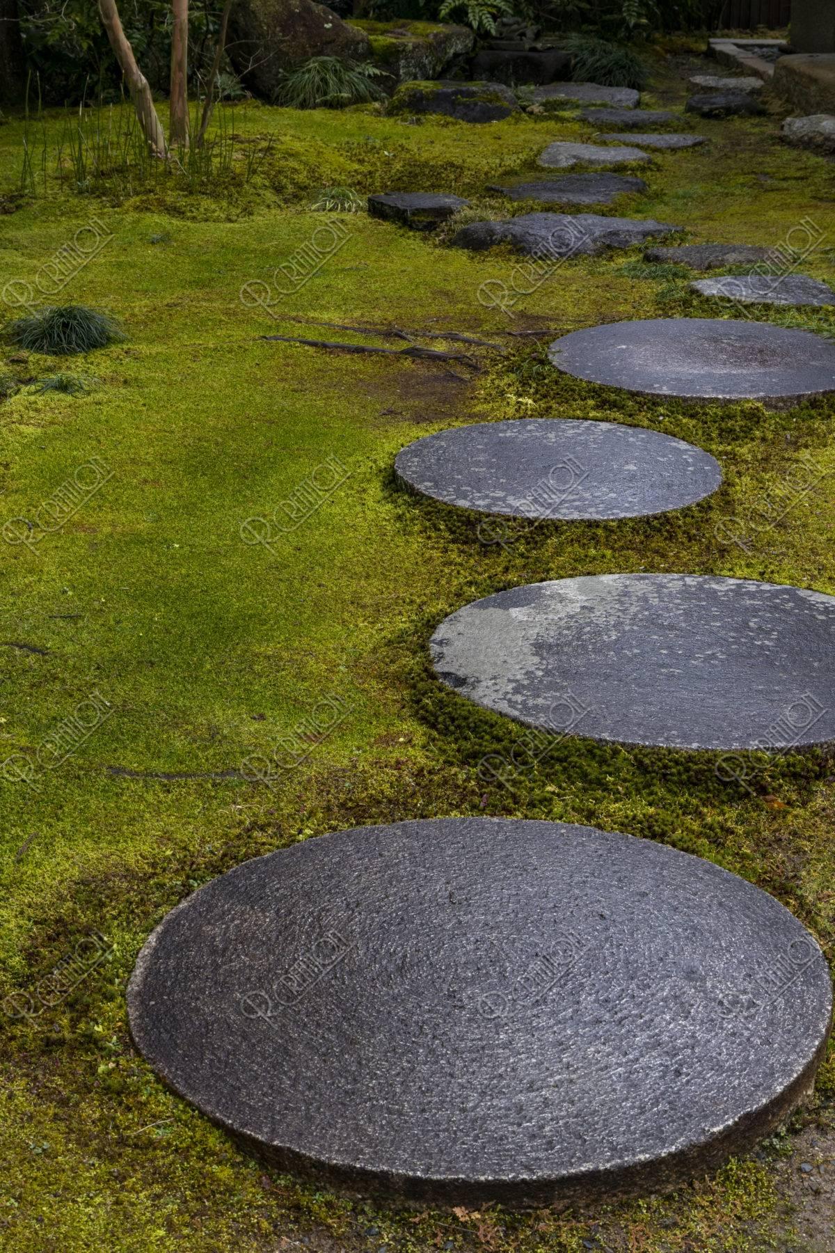 しょうざんの庭 飛石