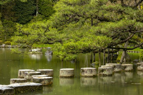 平安神宮 飛石