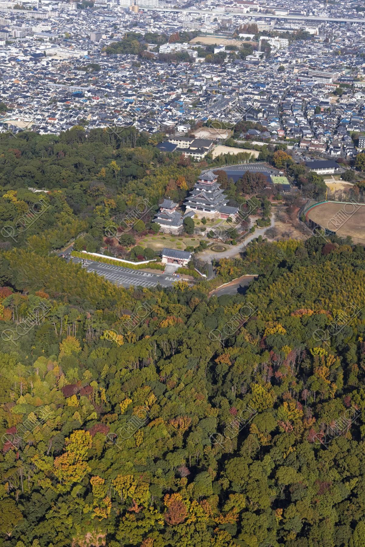 空撮 伏見桃山城