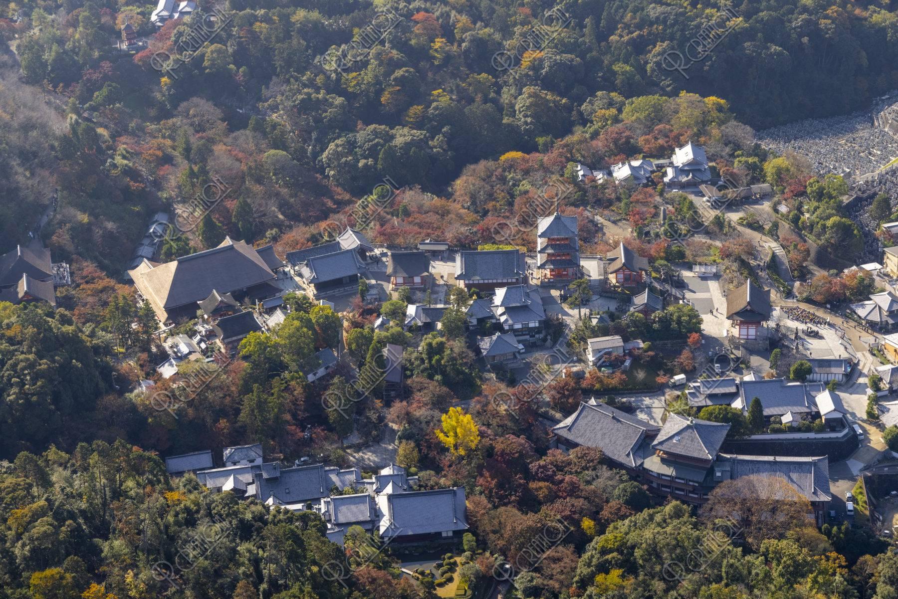 空撮 清水寺