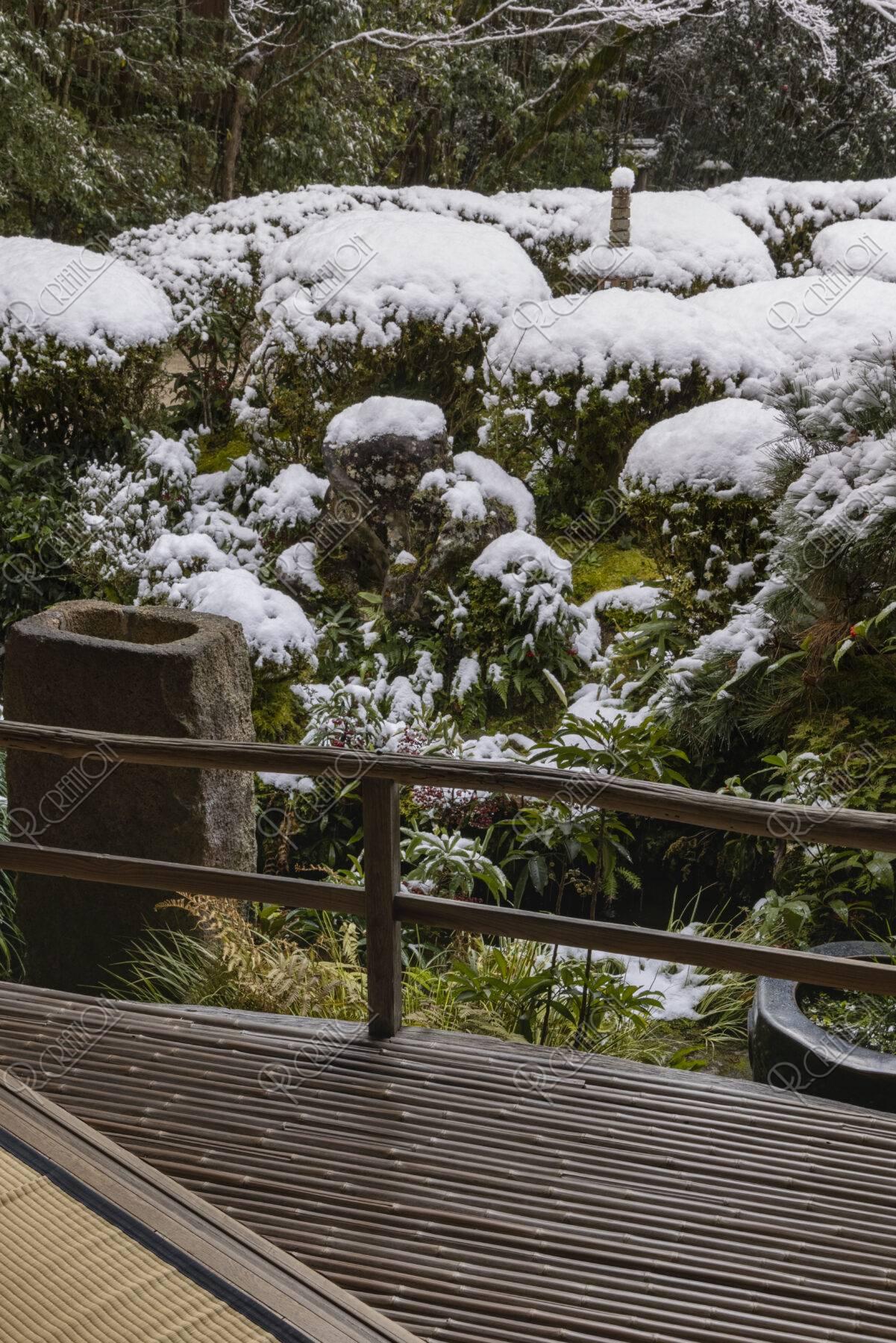 雪の詩仙堂