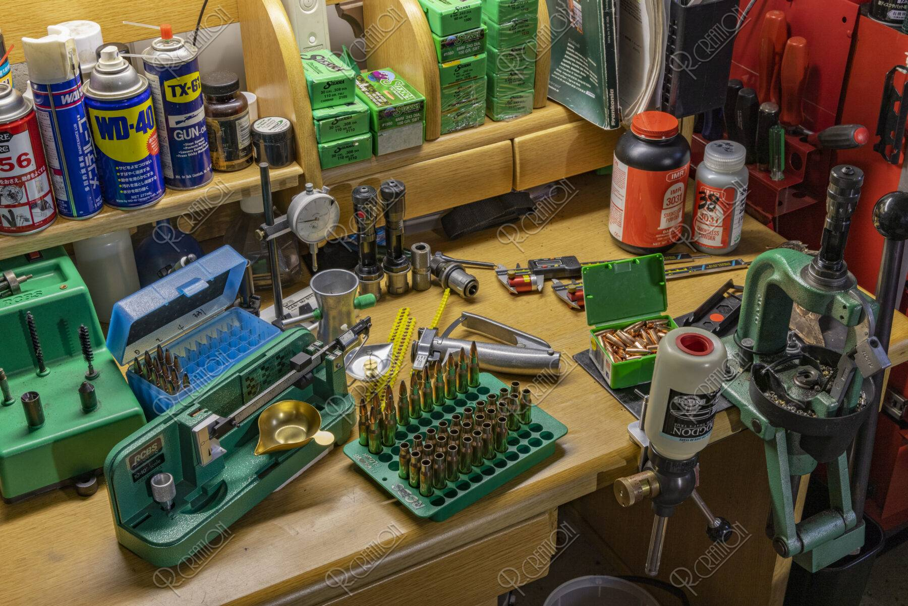 ライフル銃弾の製造