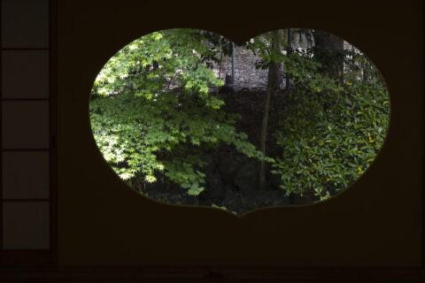地蔵院 猪目窓