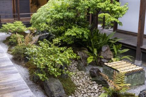 観智院 四方正面の庭