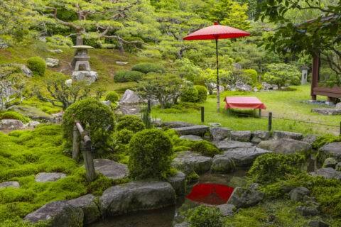旧竹林院 庭園