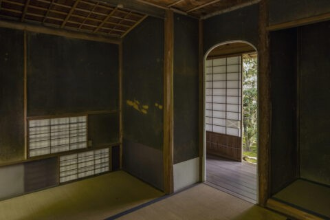 旧竹林院 茶室小間
