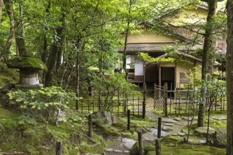 旧竹林院 広間蓬莱