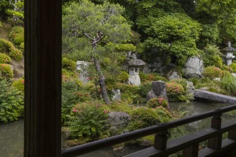 滋賀院 庭園