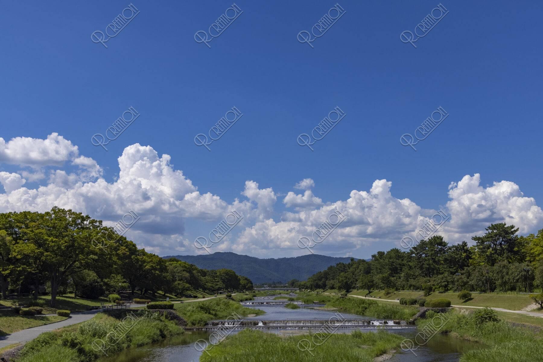 北大路橋からの賀茂川